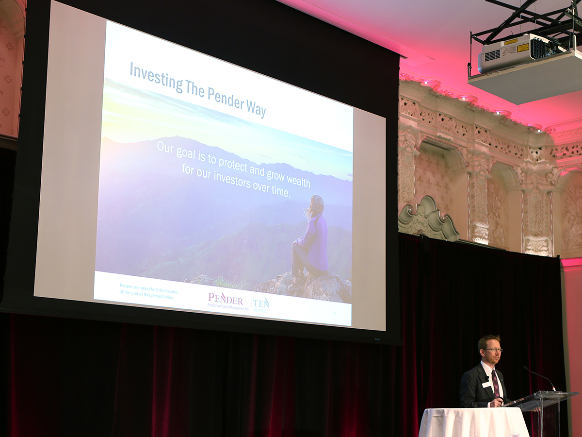 Pender Investment Conference 2019 – Marking 10 Years of Investing the Right Way