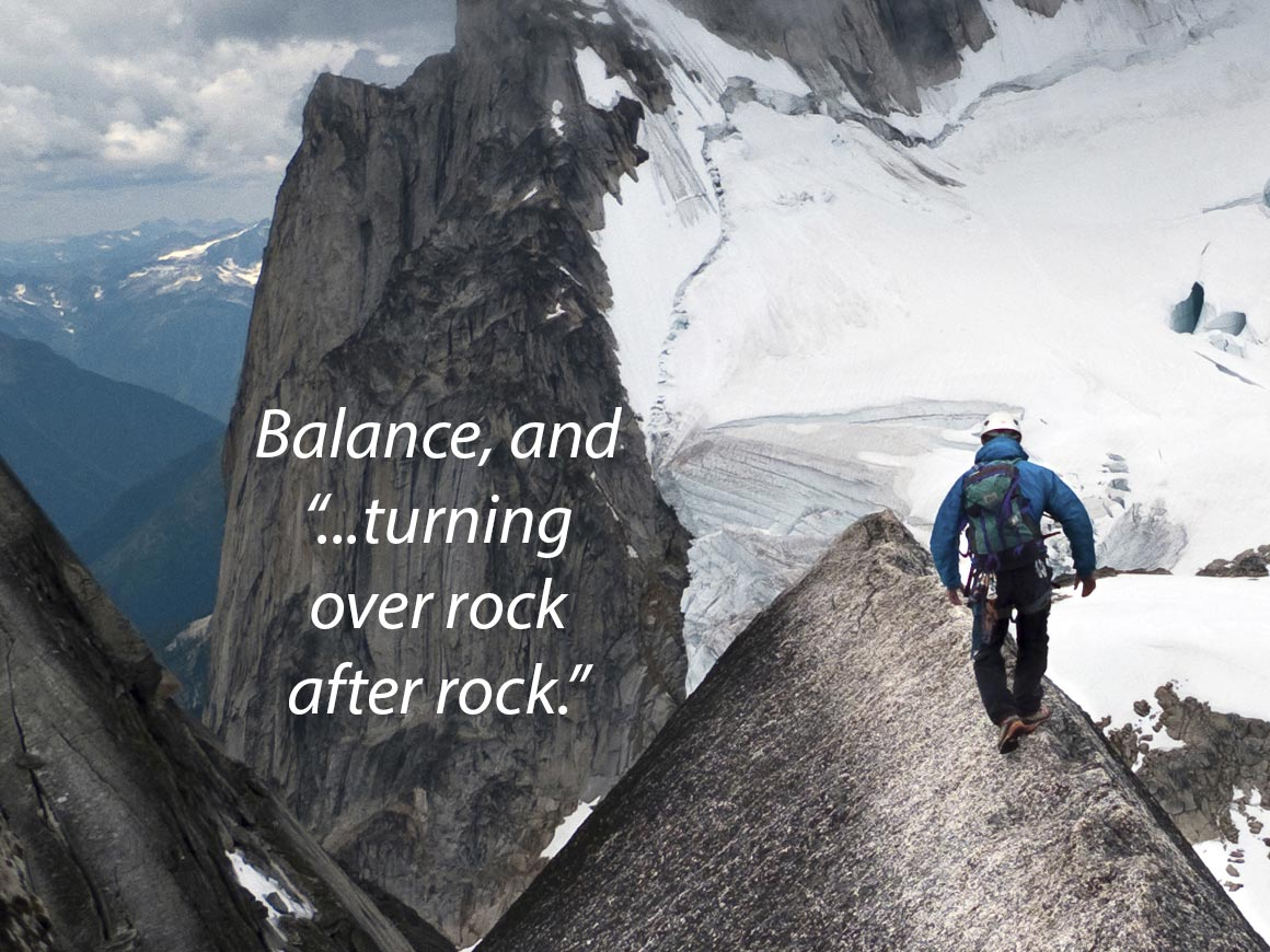Episode 27 – Balanced – Turning Over Rocks
